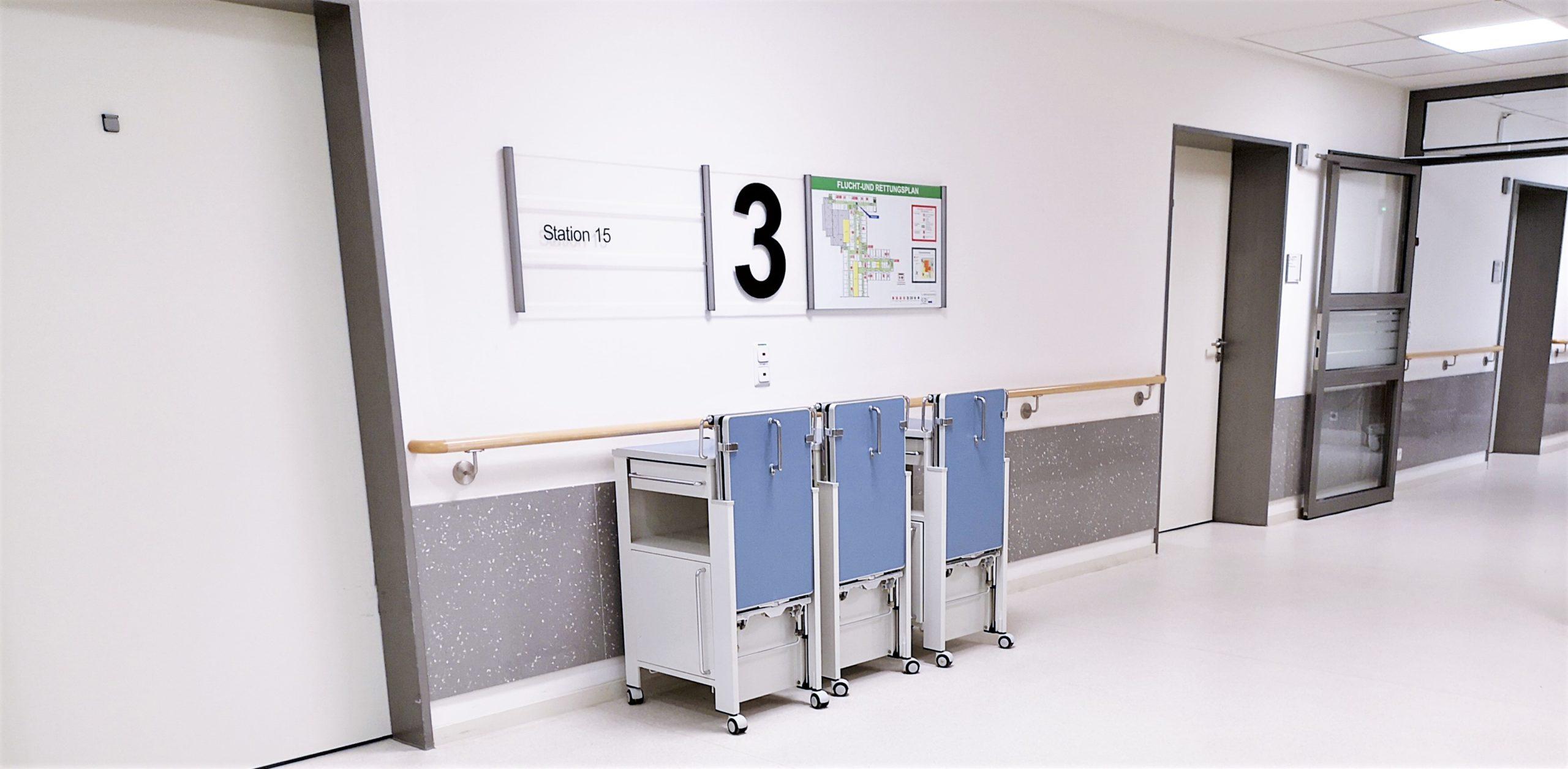 Rammschutz Wandverkleidungen für Krankenhäuser, Kliniken, Senioren- u. Altenheime, Pflegeeinrichtungen und Rehazentren