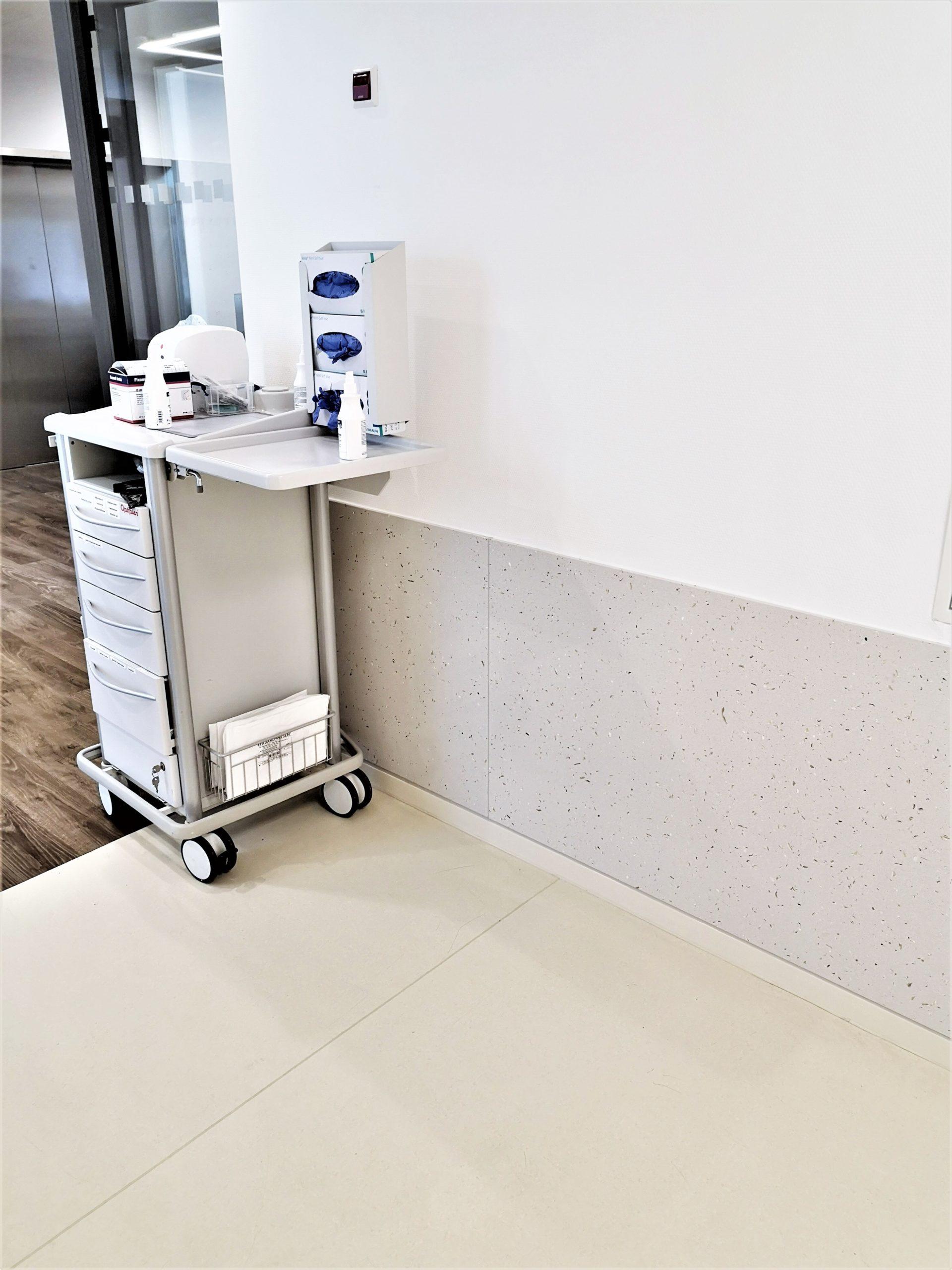 Extrem robust und perfekt hygienisch lassen sich unsere Wandverkleidungen und Rammschutz-Platten in einem besonderen Arbeitsumfeld einsetzen. Mit einer außergewöhnliche Optik überzeugen sie und machen Gänge, Flure und Korridore zu einem besonderen Ort.